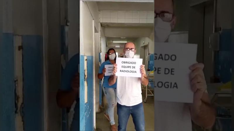 Coronavírus: Servidores do HGL emocionam com pedido e agradecimentos