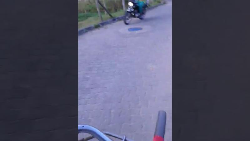 E as motos invadem a Linha Verde!